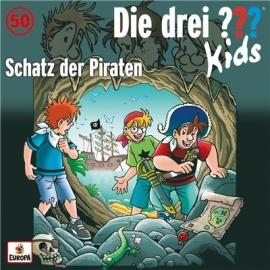 Europa - Die drei ??? Kids CD Schatz der Piraten, Folge 50