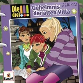Europa - Die drei !!! CD Geheimnis der alten Villa, Folge 42
