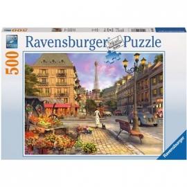 Ravensburger Puzzle - Spaziergang durch Paris, 500 Teile