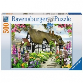 Ravensburger Puzzle - Verträumtes Cottage, 500 Teile
