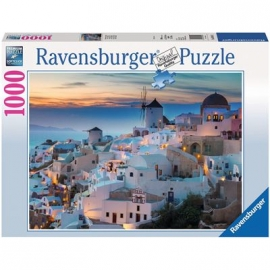 Ravensburger Puzzle - Abend über Santorini, 1000 Teile