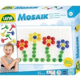 Lena - Pre School - Mosaik Set transparent 15 mm
