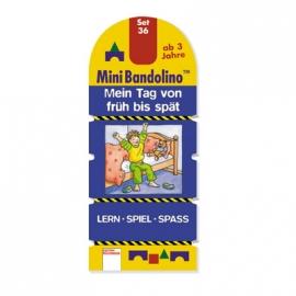 Arena Verlag - Mini Bandolino - Set 36: Mein Tag von früh bis spät