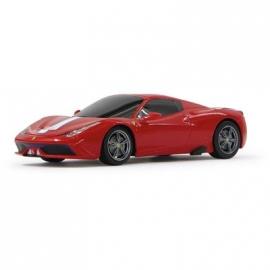 Jamara - Fahrzeug, Ferrari 458 Speciale A 1:24, rot, 40 MHz