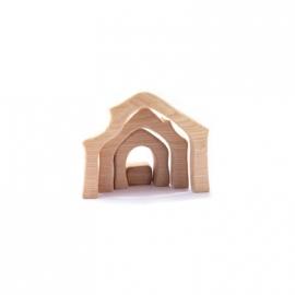Krippenstall - Minis mit Geschenkkiste