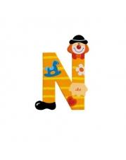 Sevi - Graffiti - Buchstabe Clown N 10 cm