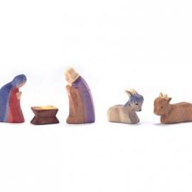 Heilige Familie, 5-teilig - Minis mit Geschenkkiste