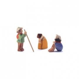 Hirtengruppe, 3-teilig - Minis mit Geschenkkiste