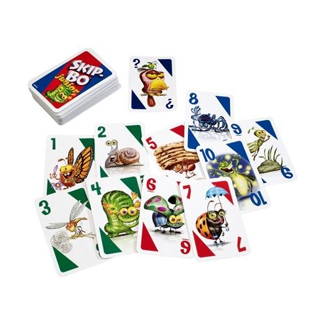 Mattel Games - Skip-Bo Junior