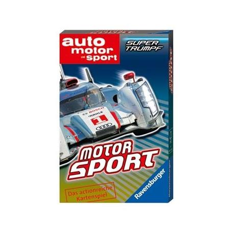 Ravensburger Spiel - Supertrumpf Quartett Motorsport