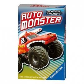 Ravensburger Spiel - Supertrumpf Quartett Auto Monster