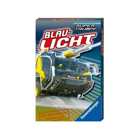 Ravensburger Spiel - Supertrumpf Quartett Blaulicht