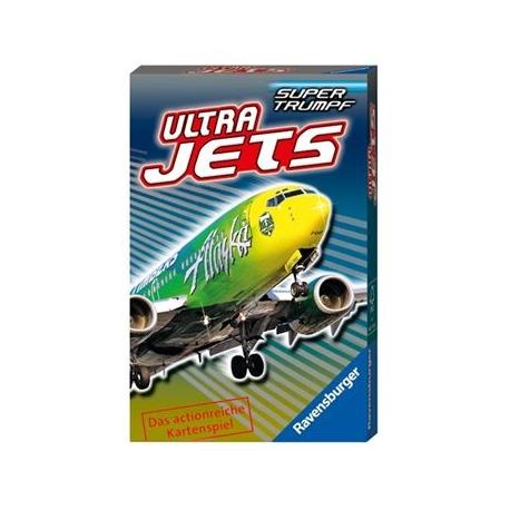 Ravensburger Spiel - Supertrumpf Quartett Ultra Jets