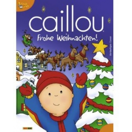Caillou Weihnachten.Mukk Münster Caillou Frohe Weihnachten Universal Trends 9783833219863