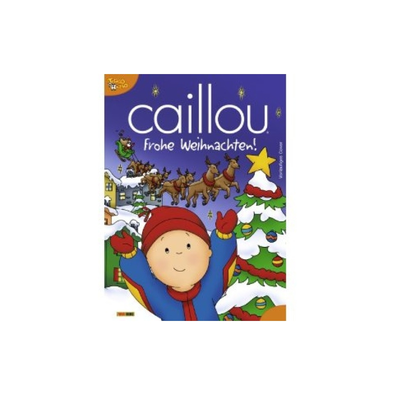 Caillou Weihnachten.Mukk Munster Caillou Frohe Weihnachten Universal Trends 9783833219863