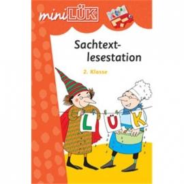 miniLÜK - Sachtext-Lesestation 2.Klasse