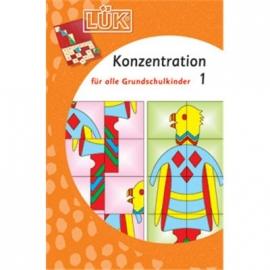 LÜK - Konzentration Grundschulkinder 1