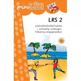 miniLÜK - LRS 2 Leserechtschreibschwäche - rechtzeitig vorbeugen, frühzeitig entgegenwirken