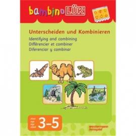 bambinoLÜK - Unterscheiden und Kombinieren