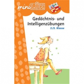 miniLÜK - Gedächtnis- und Intelligenzübungen 2./3.Klasse