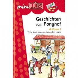 miniLÜK - Geschichten vom Ponyhof