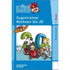 LÜK Supertrainer - Rechnen bis 20