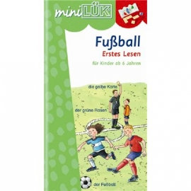 miniLÜK - Fussball Erstes Lesen