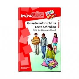 miniLÜK - Grundschulabschluss Texte schreiben