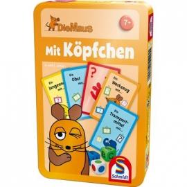 Schmidt Spiele - Die Maus - Mit Köpfchen, In Metalldose