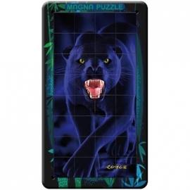 Piatnik - 3D Magnetic Puzzles in Metallbox - Panther, 32 Teile