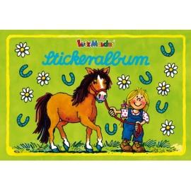 Stickeralbum Pferd Mein Ponyhof