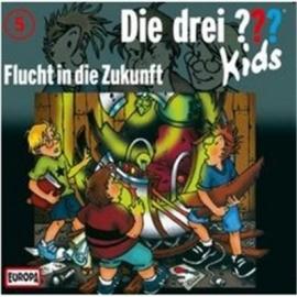 Europa - Die drei ??? Kids CD 5 Flucht in die Zukunft