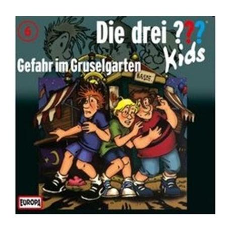 Europa - Die drei ??? Kids CD Gefahr im Gruselgarten, Folge 6