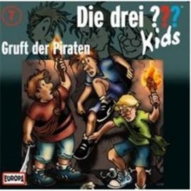 Europa - Die drei ??? Kids CD 7 Gruft der Piraten