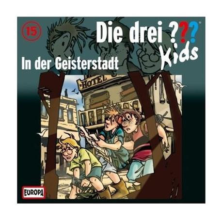 Europa - Die drei ??? Kids CD In der Geisterstadt, Folge 15