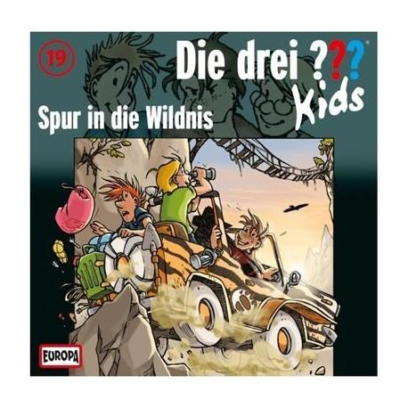 Europa - Die drei ??? Kids CD Spur in die Wildnis, Folge 19