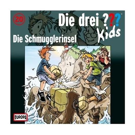 Europa - Die drei ??? Kids CD 20 Die Schmugglerinsel