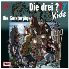 Europa - Die drei ??? Kids CD 21 Die Geisterjäger