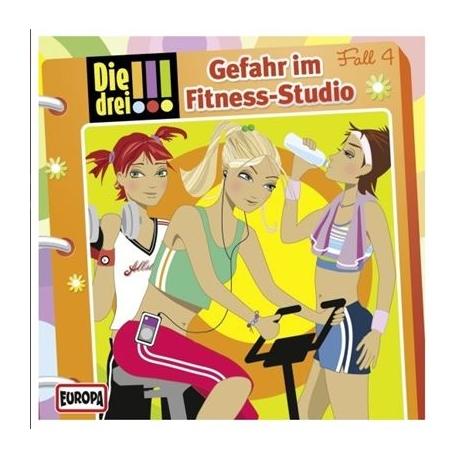 Europa - Die drei !!! CD Gefahr im Fitness-Studio, Folge 4