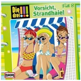 Europa - Die drei !!! CD Vorsicht Strandhaie, Folge 8