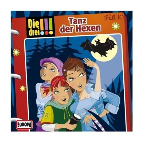 Europa - Die drei !!! CD Tanz der Hexen, Folge 10