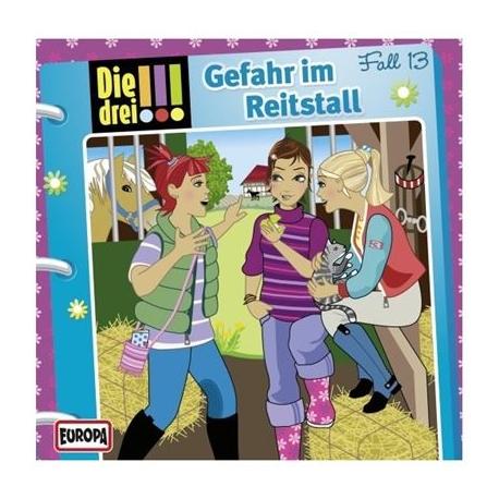 Europa - Die drei !!! CD Gefahr im Reitstall, Folge 13