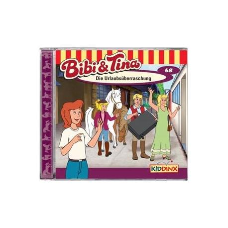 KIDDINX - CD Bibi und Tina … Die Urlaubsüberraschung (Folge 68)