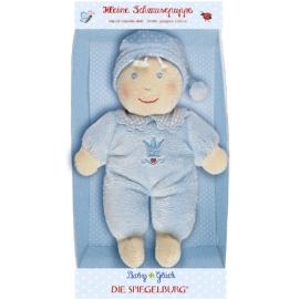 Die Spiegelburg - BabyGlück: Kleine Schmusepuppe, hellblau