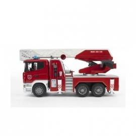 Bruder - Profi-Serie - Scania R-Serie Feuerwehrwagen mit Wasserpumpe