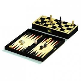 Philos - Reise-Schach-Backgammon-Dame-Set