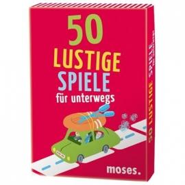 moses. - 50 lustige Spiele für unterwegs