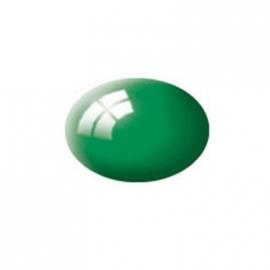 Revell - Aqua Color smaragdgrün, glänzend, 18 ml