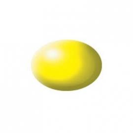 Revell - Aqua Color leuchtgelb, seidenmatt, 18 ml