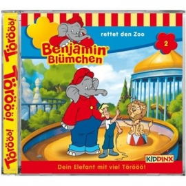 KIDDINX - CD Benjamin Blümchen … Rettet den Zoo (Folge 2)